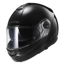 LS2 Helmets Modular Strobe Helmet (Black - Medium)