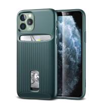ESR Wallet Case for iPhone 11 Pro Max - Wallet Armor [Slim + Protective] Premium Credit Card Holder for iPhone 11 Pro Max - Green