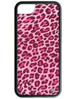 Wildflower Limited Edition Cases for iPhone 6, 7, 8 or SE (Pink Leopard)