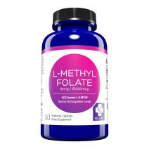 MD. Life L-Methylfolate 15mg Active Folate 5-MTHF, Professional Strength Methyl Folate - Immune Support, Essential Amino Acids Vegan Gluten-Free - 90 Purple Carrot Capsules