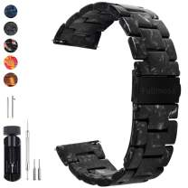 6 Colors for Quick Release Watch Band, Fullmosa Bright Resin Replacement Watch Strap 18mm 20mm 22mm