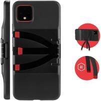 JOBY Standpoint Smartphone Case for Google Pixel 4XL - Protective, Built-in Aluminium Tripod Legs, Wireless Charging, for Selfies, Photo, Astrophotography,Video, Vlogging, Live Streaming