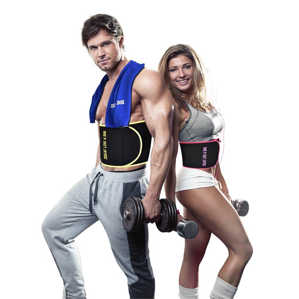 XIANGYI Waist Trimmer,Neoprene Waist Trimmer Belt for Women/Man,Weight Loss Wraps with Cooling Tower