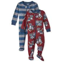 The Children's Place Baby Boys Blanket Sleeper, Pack of Two