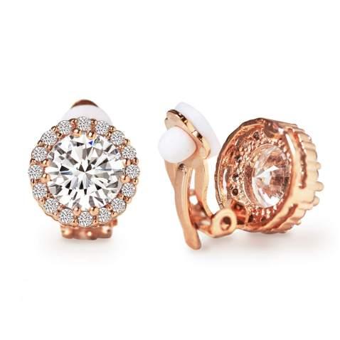 1.80 Cttw Oval 7X5MM Gem Stone King 925 Sterling Silver Red Garnet Clip-On Earrings
