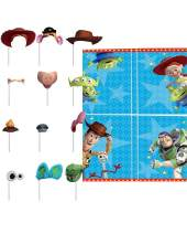 """amscan Toy Story 4"""" Blue Party Scene Setters w/ Photo Props, 16 Pc., 670908"""