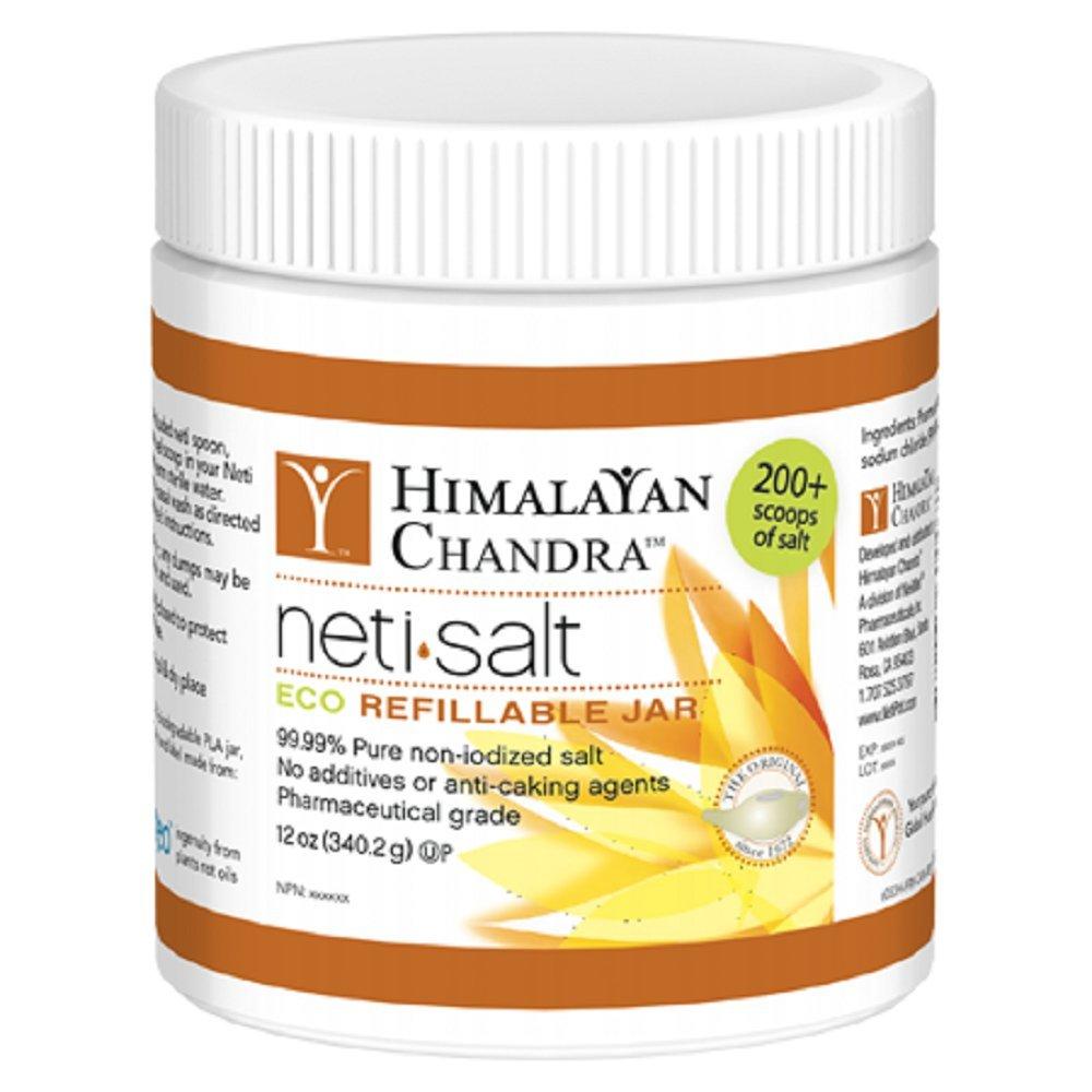 Himalayan Chandra Neti Pot Salt, 12-Ounce jar (Pack of 3)