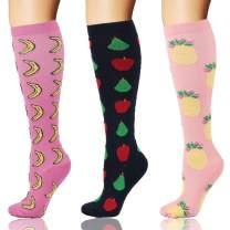 Compression Socks 20-30mmHg for Women & Men - Graduated Knee High Stockings Best for Running