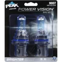 PEAK Power Vision Silver Automotive Performance Headlamp, 9007 HB5, 2 Pack