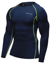BALEAF Men's Cool Dry Skin Fit Long Sleeve Compression Shirt