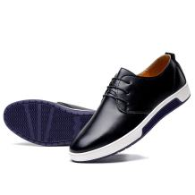 konhill Men's Casual Oxford Shoes - Breathable Dress Shoes Loafers Lace-up Flat Sneakers