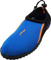 NORTY - Mens Aqua Socks Wave Water Shoes - Waterproof Slip-Ons for Pool, Beach, Lake and Sports
