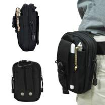 Tactical Molle Pouch Multi-Purpose EDC Utility Gadget Belt Waist Bag for Cell Phone Camping Hiking