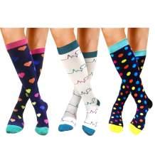 Compression Socks for Women & Men - Best for Running,Medical,Athletic Sports,Flight Travel, Pregnancy