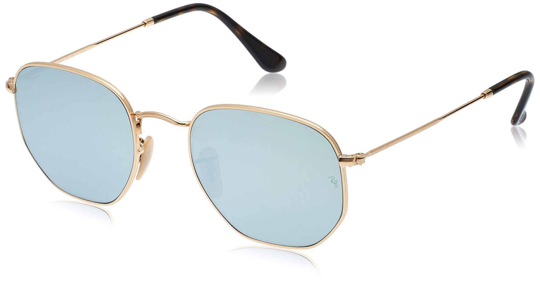Ray-Ban Women's Rb3548n Hexagonal Flat Lenses Sunglasses