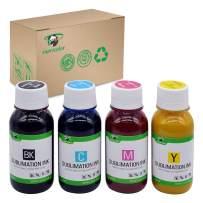 Supricolor Sublimation Ink (Non-OEM) Refillable Cartridges, CISS Heat Transfer, 400 ml for Stylus C68 C88 CX3800 CX3810 CX4200 CX4800 CX5800 CX7800 7710