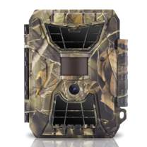 """WingHome Trail Cameras, 290C Trail Camera with Night Vision Motion Activated Waterproof for Wildlife Monitoring Photograph Home Surveillance, 12/16MP Pic Size & 1080P Recording, 2"""" Colorful Display"""