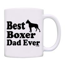 Mug Best Boxer Dad Ever Gift Coffee Mug-0083-White