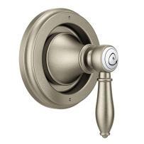 Moen TS32205BN Weymouth Diverter Transfer Valve Trim Kit, Valve Required, Brushed Nickel