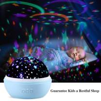TekHome Baby Toys 6 to 12 Months, Baby Boy Gifts for 1 2 3 Year Old, Toys for 4-5 Year Old Boys, Star Baby Light Projector, Newborn New Baby Shower Gifts for Boys, 2 Films, 8 Colors, 48 Effects, Blue.