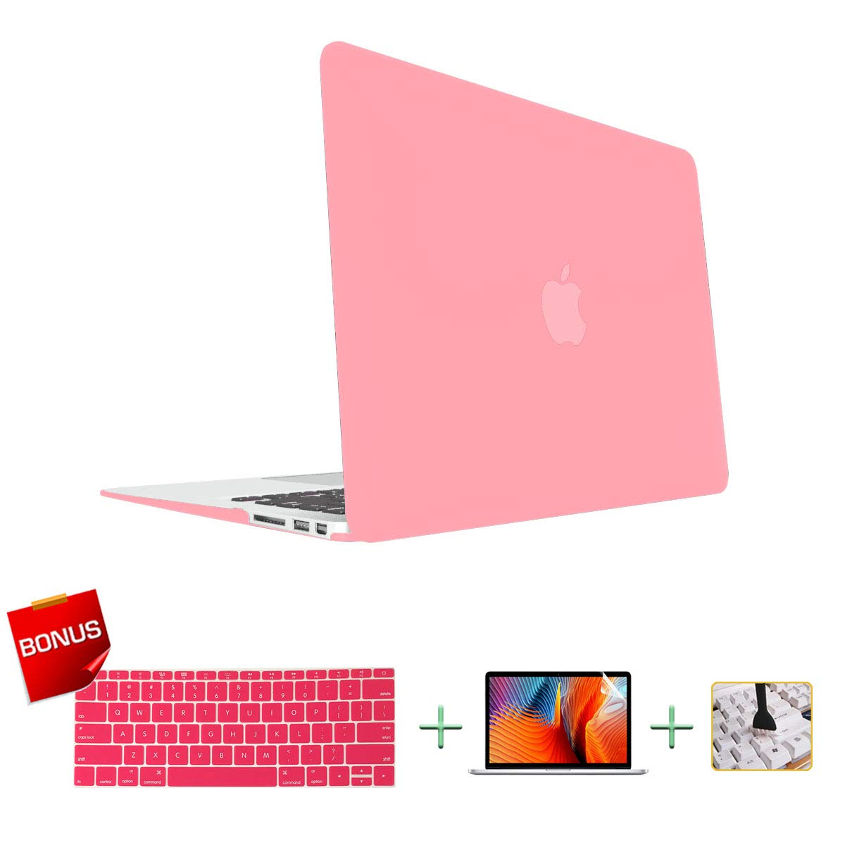 MacBook Pro 13 Inch Case Laptop Case MacBook Case & Keyboard Cover & Screen Protector Only Compatible for MacBook New Pro 13 inch(A2159/A1706/A1708/A1989)(Release 2016/2017/2018/2019)