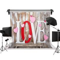 Kate 10x6.5ft/3m(W) x2m(H) Romantic Love Backdrops Wood Wall Photo Background Anniversary Decorations Photography Studio Prop