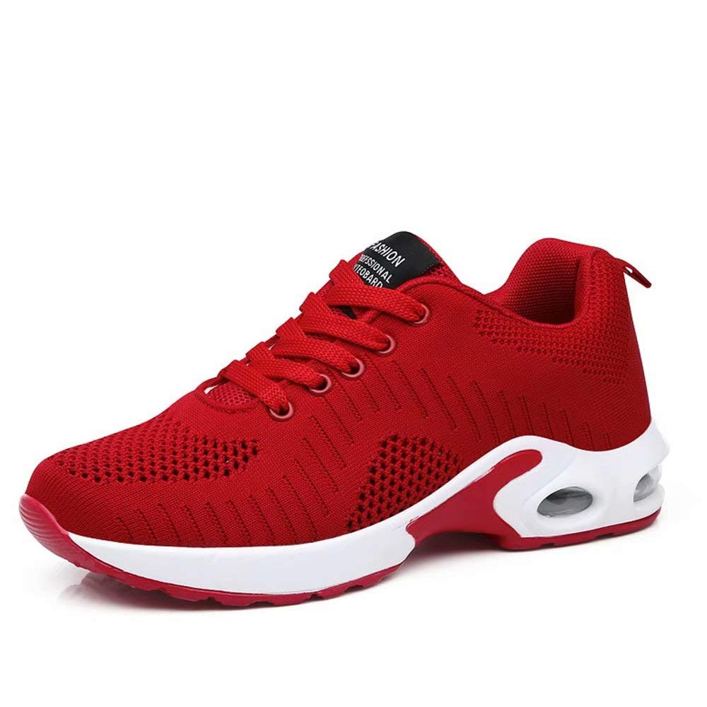 Wonvatu Women's Running Shoes Lightweight Air Cushion Sneakers Breathable Walking Shoes