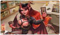 Magic Succubus Playmat Inked Gaming TCG Game Mat for Cards