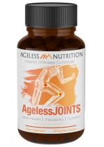 AgelessJOINTS - Premium Joint Health Supplement for Flexibility, Comfort, and Pain Relief - High Potency Anti Inflammatory - Turmeric, Ginger, MSM, and Glucosamine - 90 Veggie Capsules