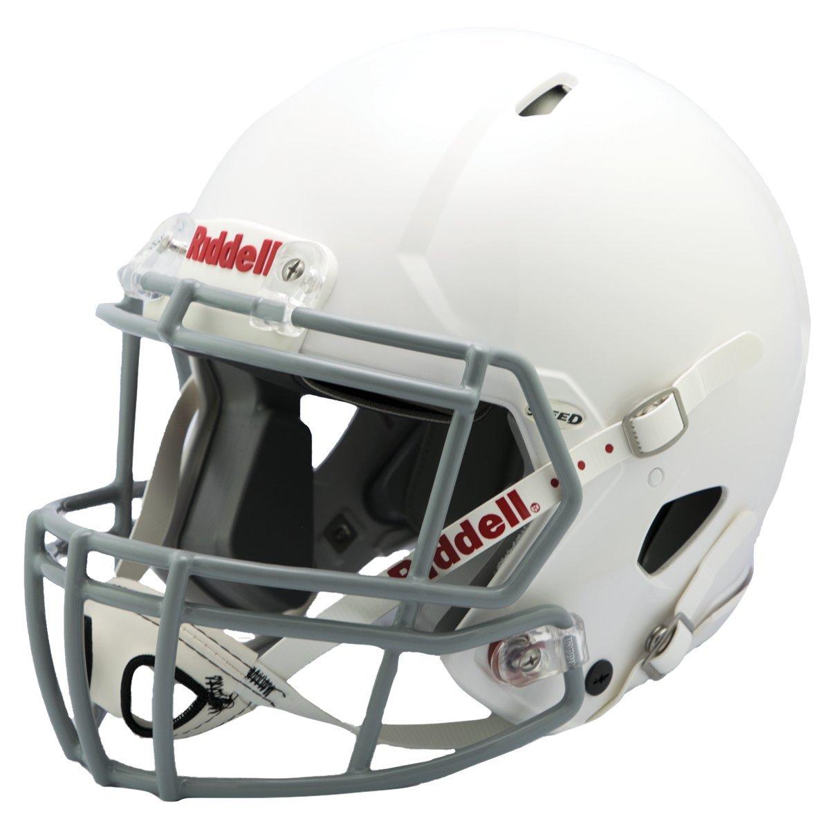 Riddell Speed Youth Football Helmet, White/Gray, X-Large