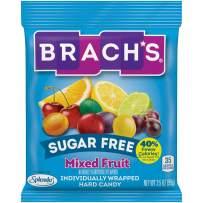 Brach's Sugar Free Mixed Fruit Hard Candy, 3.51 oz