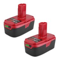 Biswaye 2Pack 5.0Ah 19.2V C3 XCP Lithium Ion Battery Replacement for 19.2-Volt Craftsman C3 Lithium Battery 130211004 130279005 11375 11045 1323903 315.115410 315.11485 315.PP2011