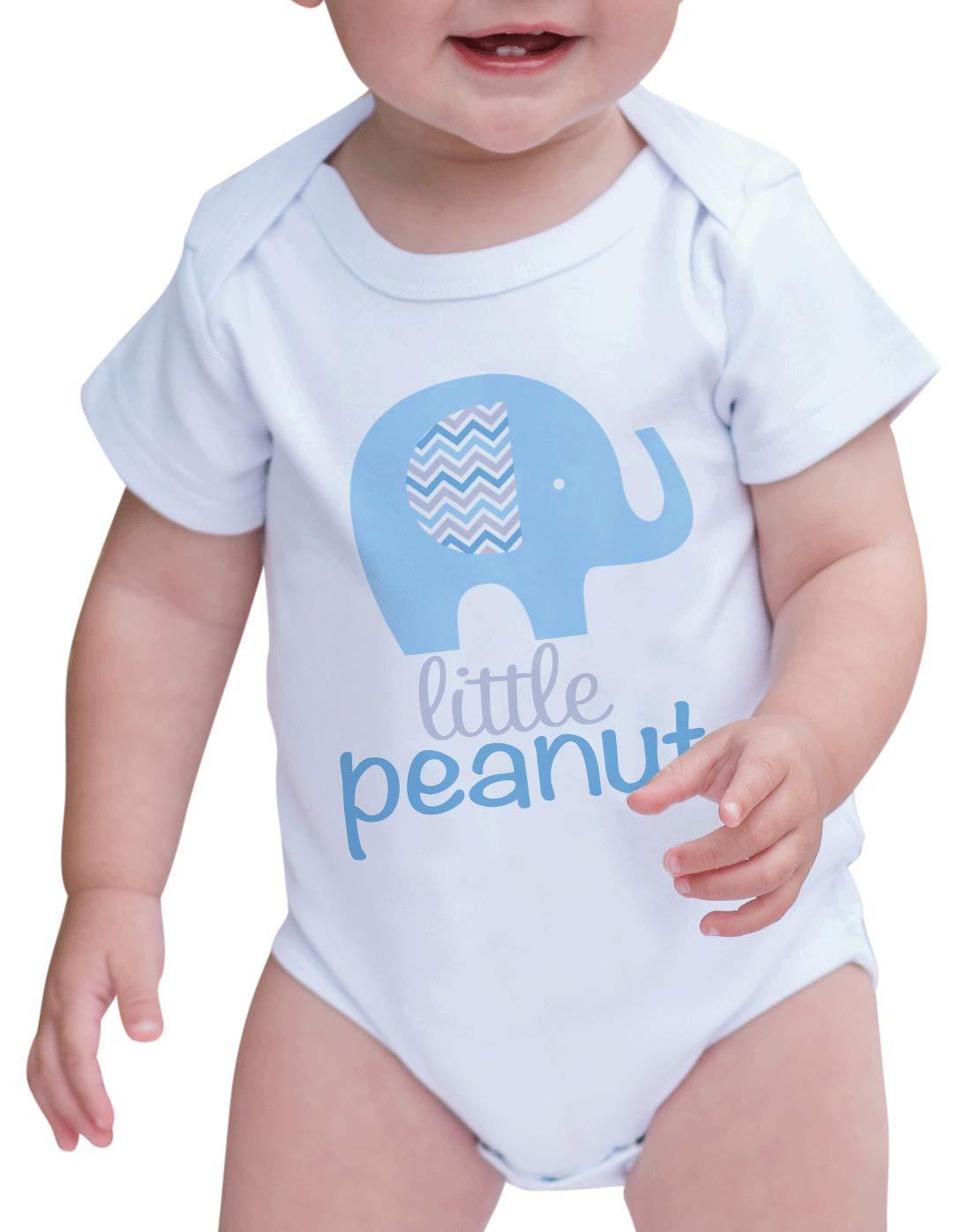7 ate 9 Apparel Baby Boy's Elephant Little Peanut Onepiece