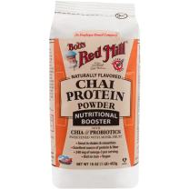 Bob's Red Mill Chai Protein Powder Nutritional Booster, 16-ounce (Package May Vary)