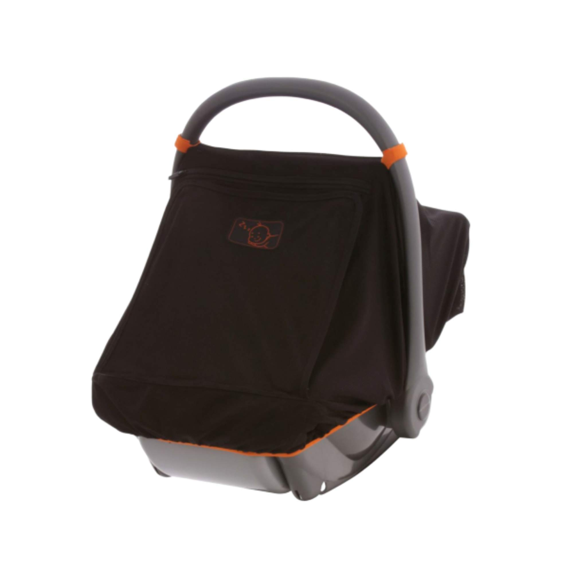 Universal Infant Car Seat Sun Cover | Blocks 99% of UV | Unisex Mesh Baby Car Seat Canopy | Peekaboo Window | Gives 360 Degree Protection