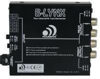 Massive Audio B-Lynx - Car Audio 4 Channel Hi-Low Converter, 2/4 Channel Input Selection, Bluetooth Audio Streaming