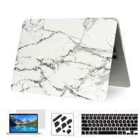 RYGOU MacBook Pro 15 inch Case 2018 2017 2016 Release A1990/A1707 with Touch Bar Models,Plastic Hard Shell Cover & Keyboard Skin & Screen Protector Compatible Newest MacBook Pro 15 Inch
