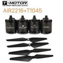 SoloGood FPV Brushless Motor T-Motor Air Gear 450 4PCS 2216 AIR2216 KV880 Motor 2Pair T1045 1045 Props Propeller …