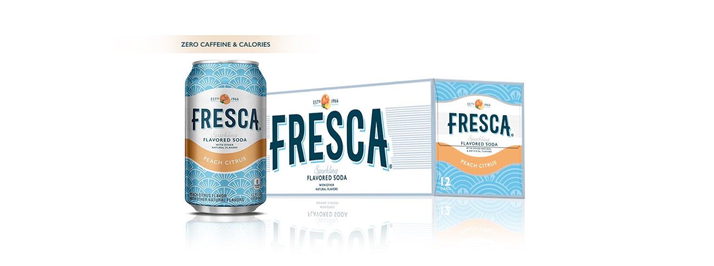 Fresca Fruit Juice, Peach, 12 Fluid Ounce (Pack of 12)