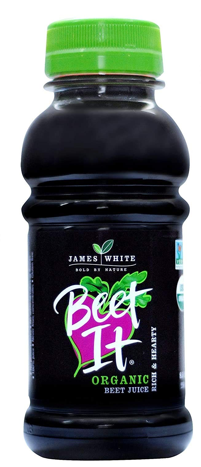 BEET IT Organic Beet Juice, 8.5 Ounce (Pack of 12) Non GMO 100 % Natural Beet Juice Organic - Gluten Free, No Added Sugar, Not from Concentrate
