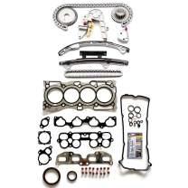 ECCPP Engine Timing Chain Kit Head Gasket Set for 02 03 04 05 06 Altima Sentra 2.5L Head Gasket Set