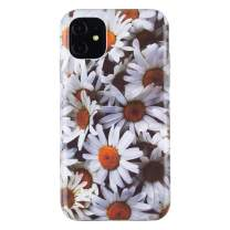 Dimaka iPhone 11 Case,2 Layers Flower Daisy Design for Girls,Ultral Slim Thin Drop Proof Protective Cover for iPhone 11 (15)