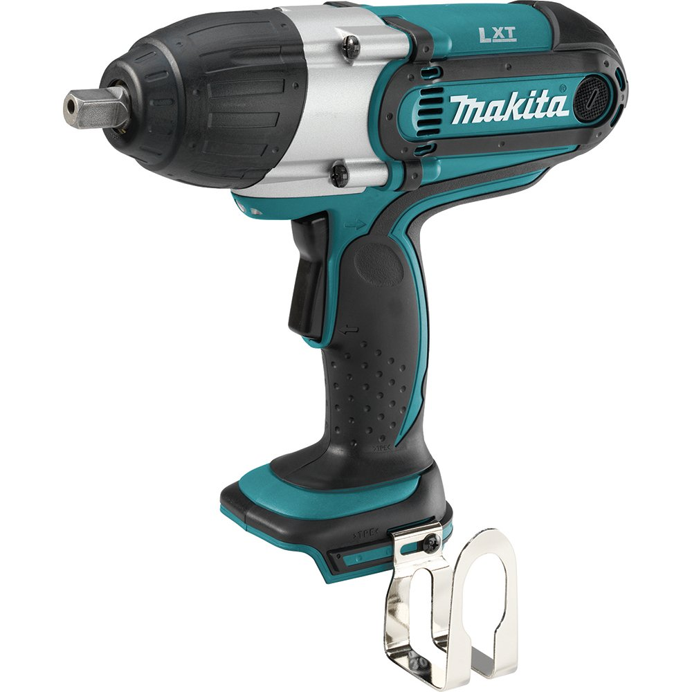 Makita XWT04Z 18-Volt LXT Lithium-Ion 1/2-Inch High Torque Impact Wrench (Tool Only, No Battery)