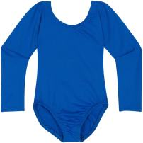 Leotard Boutique Classic Long Sleeve Toddler Dance Leotards, Infant and Baby Girls Sizes 6-24M