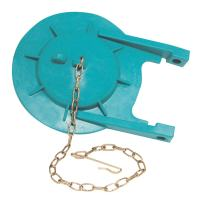 DANCO Premium Silicone Toilet Tank Flapper and Chain for Toto Power Toilets | Flapper Replacement | Teal | 1 Pack (88874)