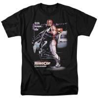 Robocop Movie Poster T Shirt & Stickers
