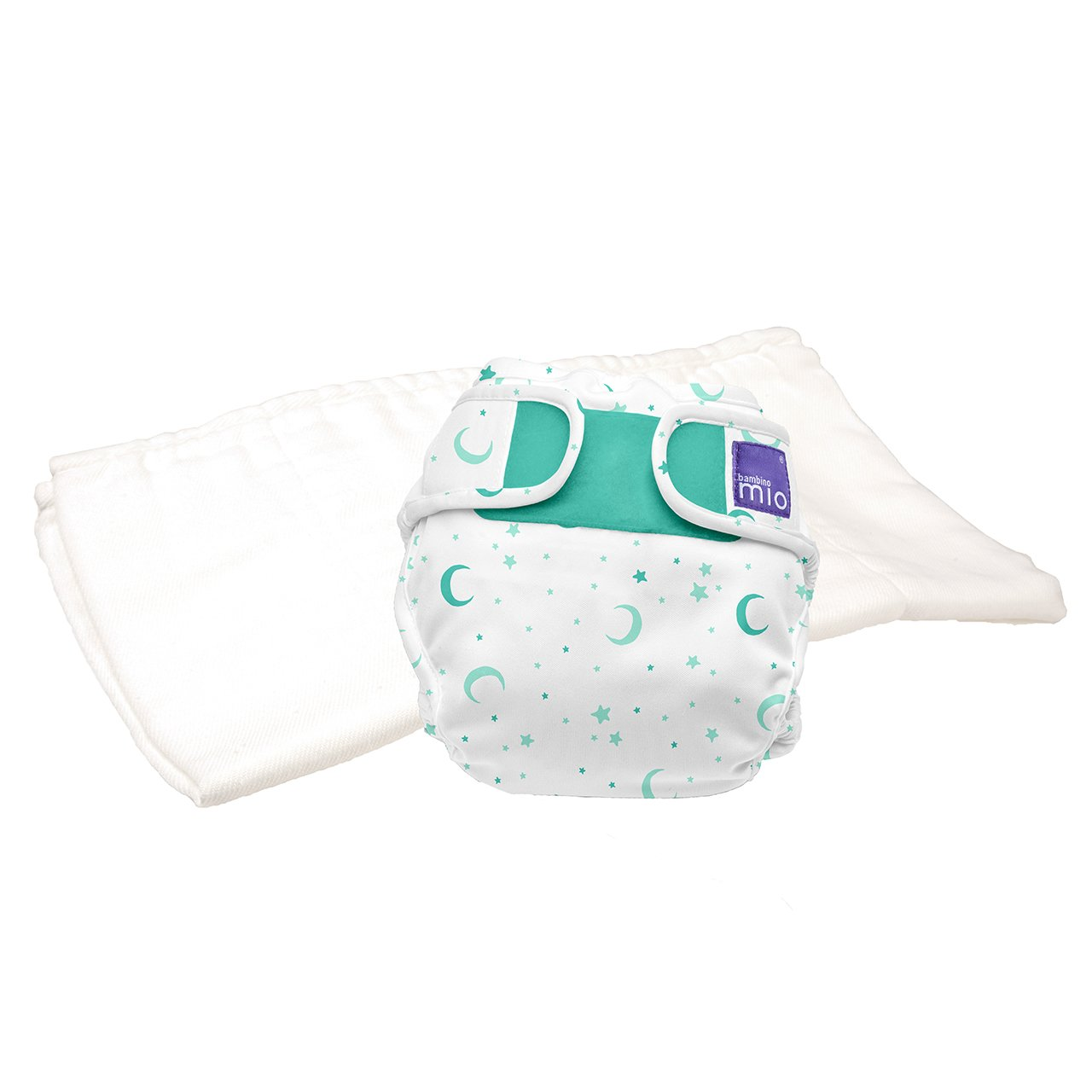 Bambino Mio, Miosoft Cloth Diaper Trial Pack, Sweet Dreams, Size 2 (21lbs+)
