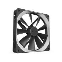 NZXT AER F - RF-AF120-B1 - 120mm - Winglet Designed Fan Blades - Fluid Dynamic Bearings - PWM Airflow Fans - Gaming Computer Fan