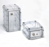 Bel-Art Secador Clear 4.0 Vertical Desiccator Cabinet; 1.9 cu. ft. (F42074-1000)