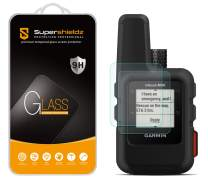 (2 Pack) Supershieldz for Garmin inReach Mini Tempered Glass Screen Protector, Anti Scratch, Bubble Free